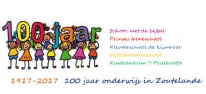 Onze school bestaat 100 jaar!