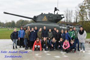 Herdenking Zoutelande en bezoek bevrijdingsmuseum